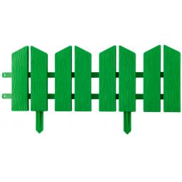 фото Бордюр декоративный Grinda «Летний сад» 422225. Цвет: зеленый