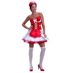 Купить Костюм карнавальный женский Шампания «Медсестра»