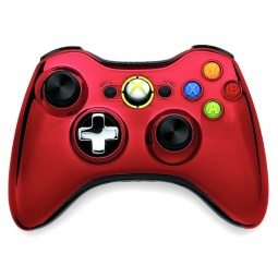 Купить Геймпад Microsoft Xbox 360 Wireless Controller Chrome Series