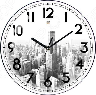 Часы настенные Irit IR-622Часы настенные<br>Часы настенные Irit IR-622 - популярный элемент в оформлении интерьера. Представить свою жизнь без часов - невозможно, особенно в современном мире, где на счету каждая минута, поэтому настенные часы станут не только красивым но и полезным украшением. Настенные часы помогут подчеркнуть индивидуальность вашего интерьера, а так же подскажут точное время. Питание от 1xAA батарейки.<br>