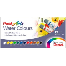 фото Акварель Pentel Pentel Water Colours: 12 цветов