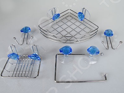 Набор аксессуаров для ванной комнаты Rosenberg 7773