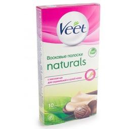 Купить Полоски для депиляции Veet Naturals