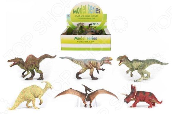 Фигурка динозавра Shantou Gepai Q9899-325. В ассортиментеИгрушечные животные<br>Товар продается в ассортименте. Вид изделия при комплектации заказа зависит от наличия товарного ассортимента на складе. Фигурка динозавра Shantou Gepai Q9899-325 прекрасный подарок для ваших детей, которые увлекаются доисторическим миром и давно мечтали о собственном динозавре у себя дома. Он послужит для ребенка не только развлечением, но и обучающим материалом. Эта небольшая копия одного из самых древних и невероятных животных, существовавших на нашей планете, выполнена с удивительной детализацией и высокой проработкой самых маленьких деталей. Фигурка выполнена из высококачественного и прочного материалы, который совершенно безопасен для детского здоровья. Динозавр не будет бояться ни влаги, ни солнца, поэтому с ними можно играть в ванной и на улице в любую погоду.<br>