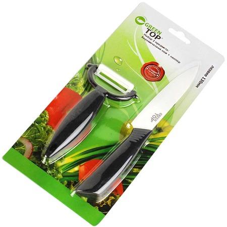 Купить Набор ножей керамических GreenTop 512P8-A02BL