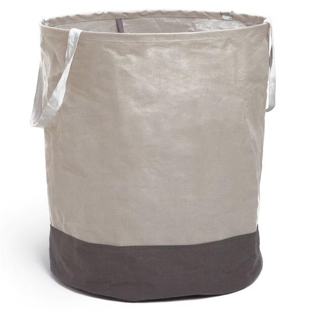фото Корзина для белья большая Umbra Crunch. Цвет: серый