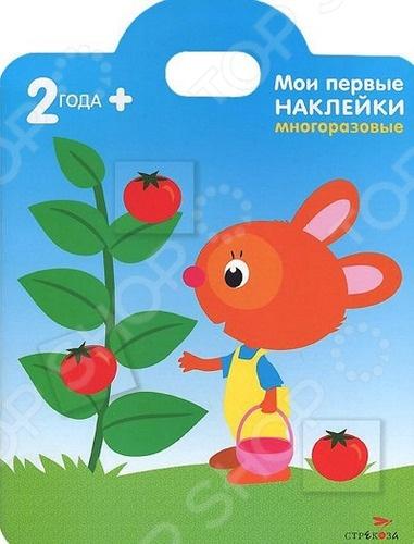 Книжка с многоразовыми наклейками. В игровой форме книжки учат ребенка, как пользоваться наклейками и находить наклейки, похожие на маленькие картинки.