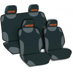 фото Чехлы-маечки на передние сиденья CHAMELEON. Цвет: красный
