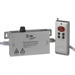 Купить Контроллер для светодиодной RGB-ленты с пультом ДУ Эра RGBcontroller-220-A05-RF