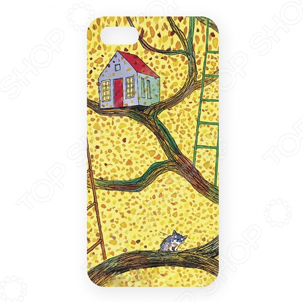 Чехол для iPhone 5 Mitya Veselkov «Дом на дереве»