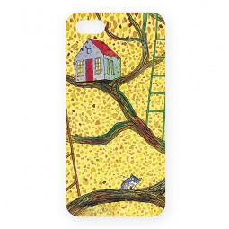 фото Чехол для iPhone 5 Mitya Veselkov «Дом на дереве»