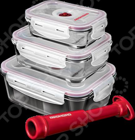 Набор контейнеров вакуумных Redmond RAM -VS1