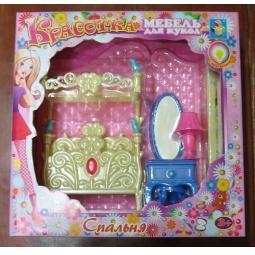 Купить Набор мебели для кукол 1 TOY «Спальня»