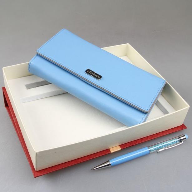 фото Набор: кошелек и ручка-стилус Venuse 76016