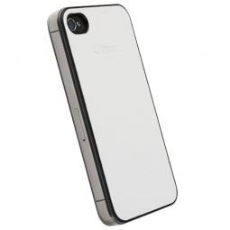 фото Накладка Krusell DONSo UnderCover для iPhone 4S. Цвет: белый