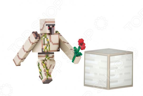 Игрушка-фигурка Minecraft Железный голем mattel games фигурка персонажей minecraft