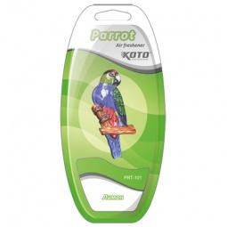 фото Ароматизатор на дефлектор KOTO Parrot. Вид: Лимон