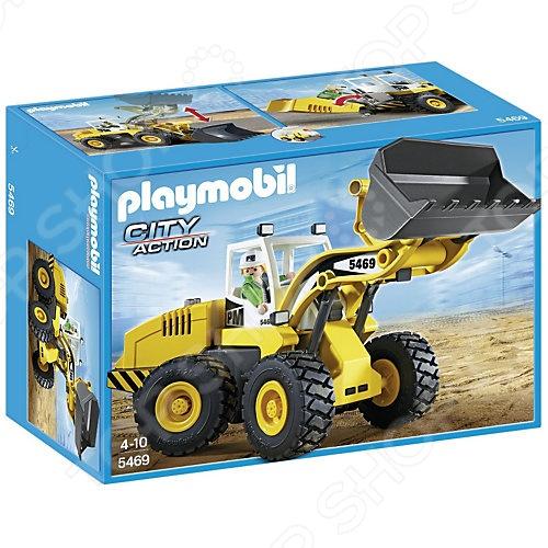 Конструктор игровой Playmobil 5469 «Стройка: Большой фронтальный погрузчик» ru 5469