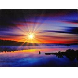 Купить Картина с подсветкой Bradex «Закат»
