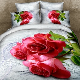 фото Комплект постельного белья с эффектом 3D Buenas Noches Nejnost. Евро