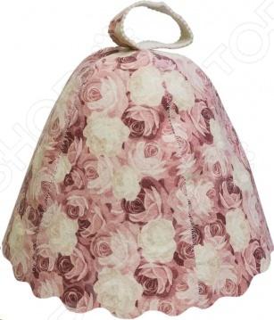 Шапка для бани и сауны Банные штучки «Розы» 41138 набор женский для бани и сауны банные штучки 33301