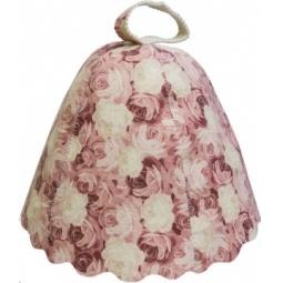 Купить Шапка для бани и сауны Банные штучки «Розы» 41138