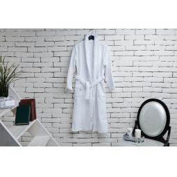 фото Халат из махры женский Домашний уют. Цвет: белый. Размер одежды: 46-48. Вес: 600