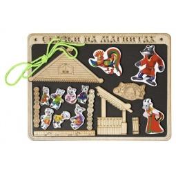 фото Доска магнитная для ребенка БЭМБИ «Сказки на магнитах. Волк и 7 козлят»