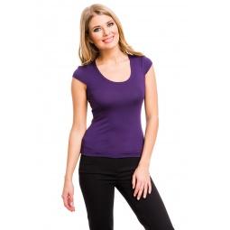 фото Футболка Mondigo 7001. Цвет: темно-фиолетовый. Размер одежды: 42