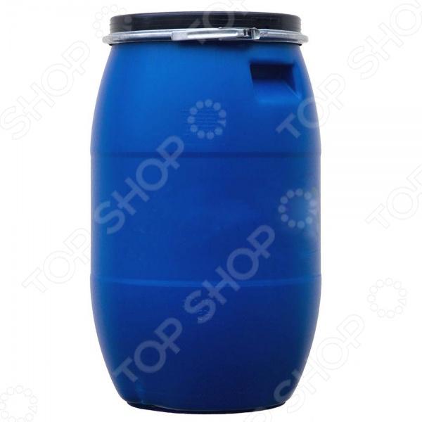Бочка РосПласт T0000001608 полезная для хозяйства вещь, которая поможет хранить большое кол-во жидкости. Бочка выполнена из высококачественного пластика, поэтому подходит для хранения различных продуктов. Так, в неё можно набрать запах питьевой или технической воды. Герметичная бочка с плотно закрывающейся крышкой не даст содержимому вылиться. Дополнительные варианты для хранения: ГСМ, химические продукты, дизельное топливо, бензин, масло.