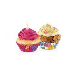 фото Набор форм для выпечки кексов «Мотивы для вечеринок» Tescoma Delicia. Диаметр: 6 см. Количество форм: 60