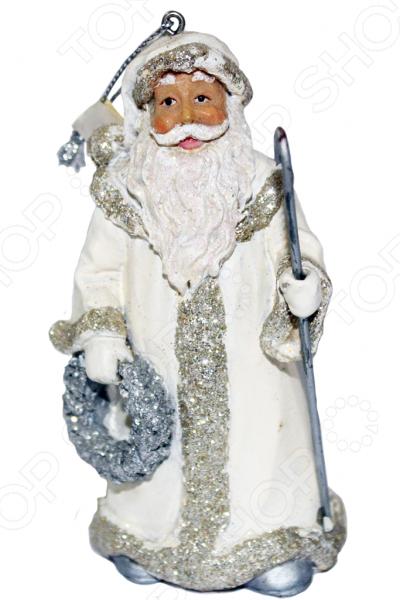 Елочное украшение-подвеска Crystal Deco «Санта» 1707792