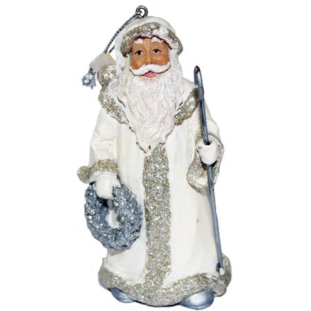Купить Елочное украшение-подвеска Crystal Deco «Санта» 1707792