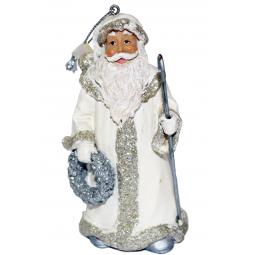 фото Елочное украшение-подвеска Crystal Deco «Санта» 1707792