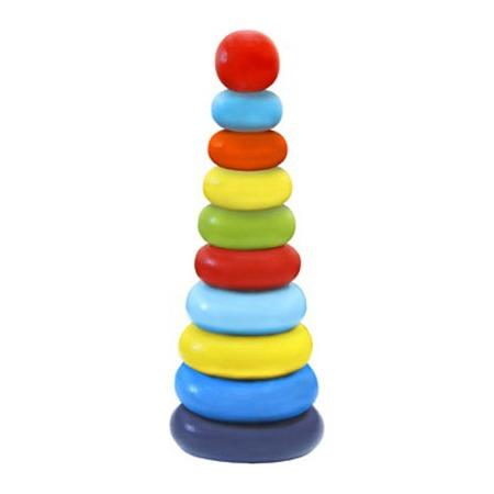 Купить Игрушка-пирамидка Alatoys «Колечки» 050110