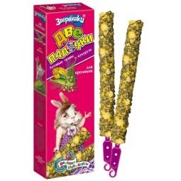 фото Лакомство для кроликов ЗООМИР «Зверюшки. Луговые травы и кукуруза»