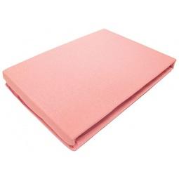 фото Простыня на резинке трикотажная ЭГО. Цвет: розовый. Размер простыни: 90х200 см