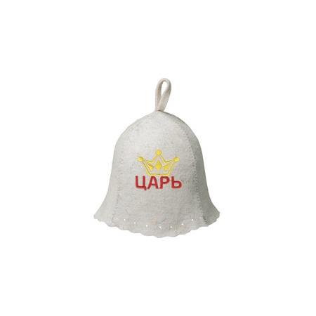 Купить Шапка для бани и сауны Hot Pot «Царь» 41170