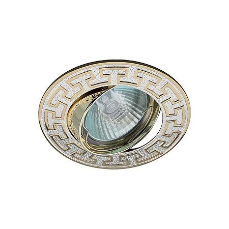Купить Светильник встраиваемый поворотный Эра KL28 А S/GD