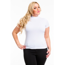 фото Водолазка Mondigo XL 037. Цвет: белый. Размер одежды: 50