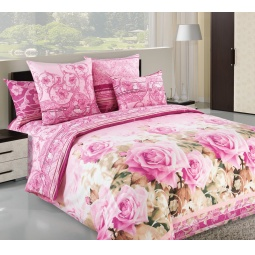 фото Комплект постельного белья Королевское Искушение «Леди». Цвет: розовый. 2-спальный. Размер простыни: 220х195 см