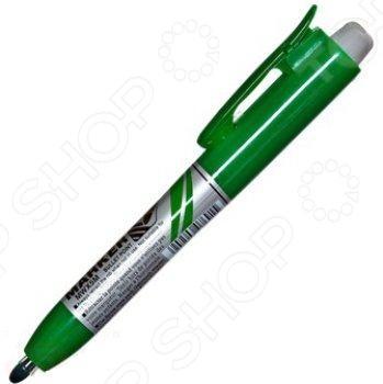 Маркер для досок Pentel MWX5M-D канцелярский предмет, необходимый для разметки, маркировки и редактирования. Пригодится школьникам, студентам и офисным работникам. Наконечник круглый пулеобразный .