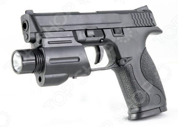 Пистолет игрушечный Shantou Gepai ES1003-SM0604 игрушечное оружие edison игрушечный пистолет дженни 21 см