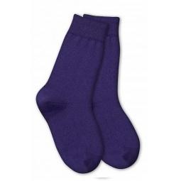 фото Носки детские Teller Wool Cotton. Цвет: фиолетовый