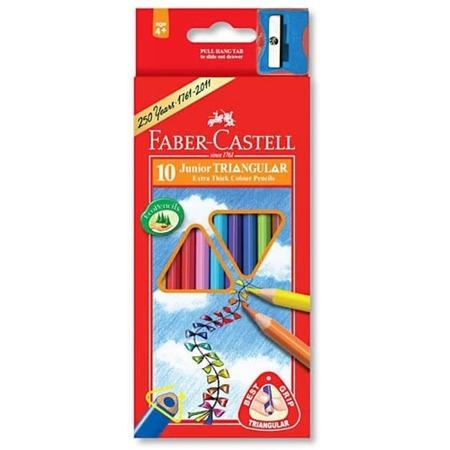 Купить Набор карандашей цветных Faber-Castell Junior Grip 116510