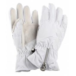 Купить Перчатки горнолыжные GLANCE Donna (2012-13). Цвет: белый