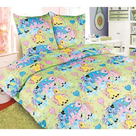 Купить Ясельный комплект постельного белья Бамбино «Чудо-Пони»