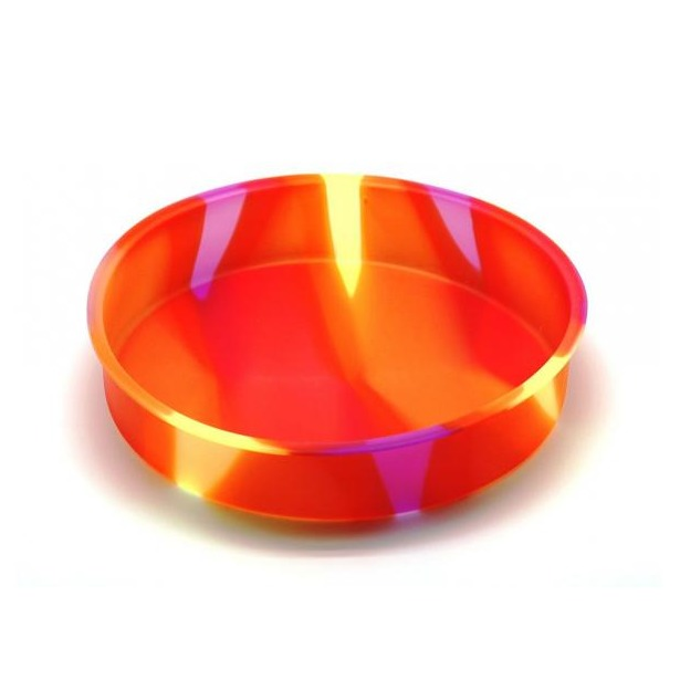 фото Форма для выпечки силиконовая Atlantis «Торт» SC-BK-004M. Цвет: желтый, оранжевый, красный