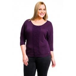 фото Кофта Mondigo XL 8512. Цвет: баклажановый. Размер одежды: 52