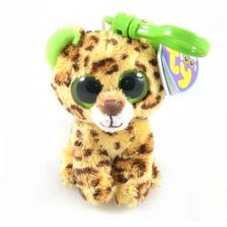 фото Мягкая игрушка с клипсой TY Леопард SPECKLES. Высота: 12,5 см